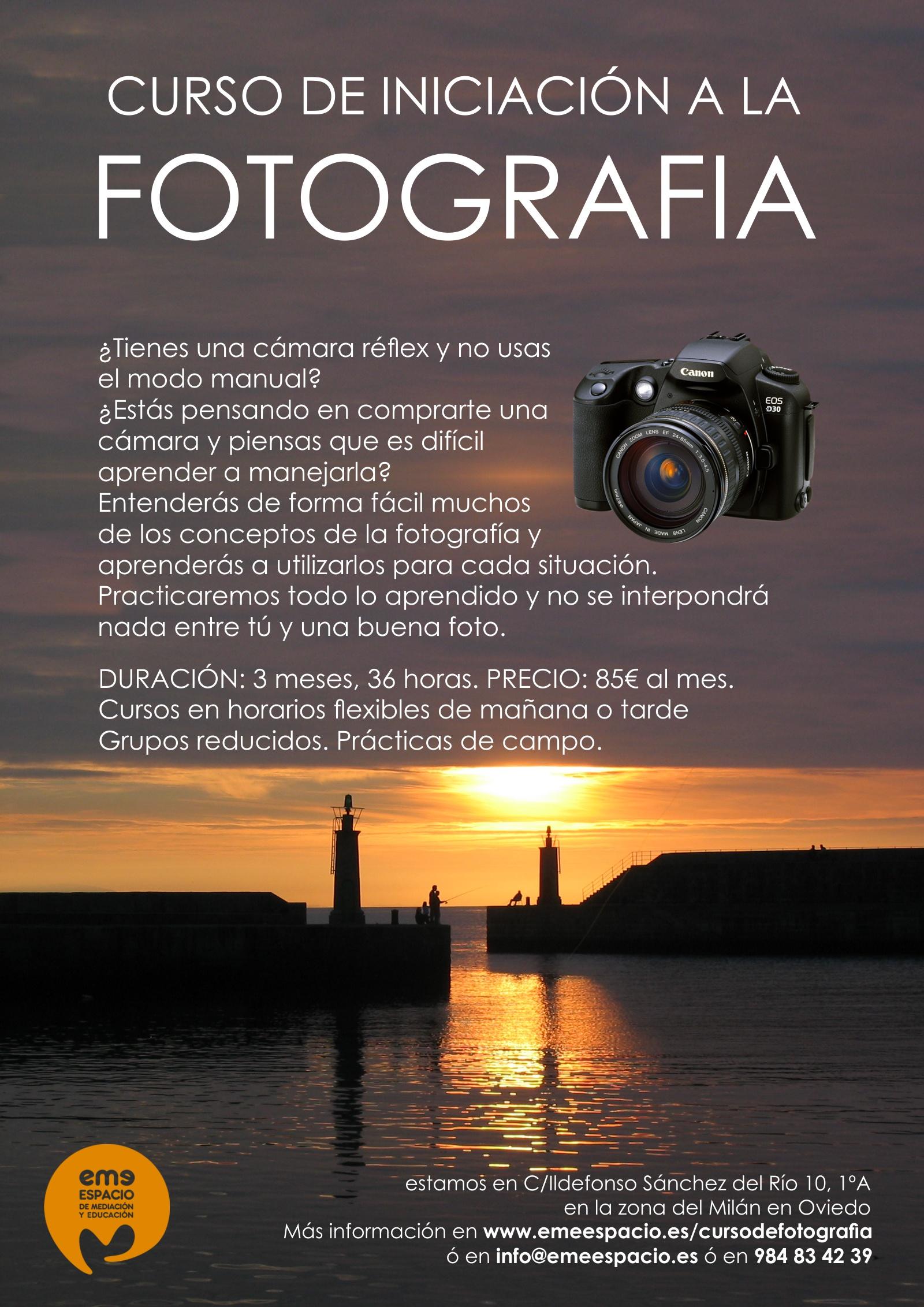 cartel curso foto