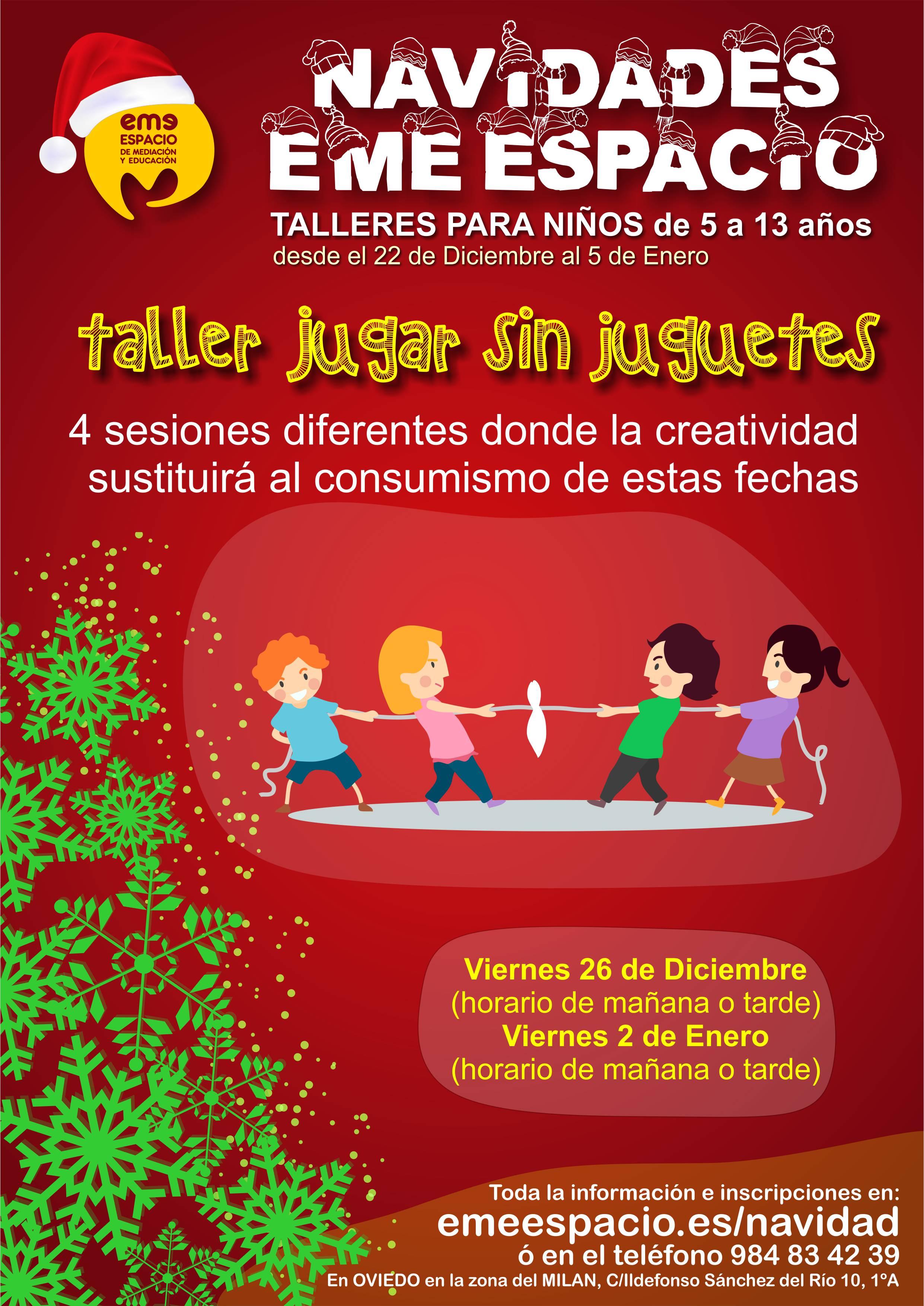 cartel navidades juguetes