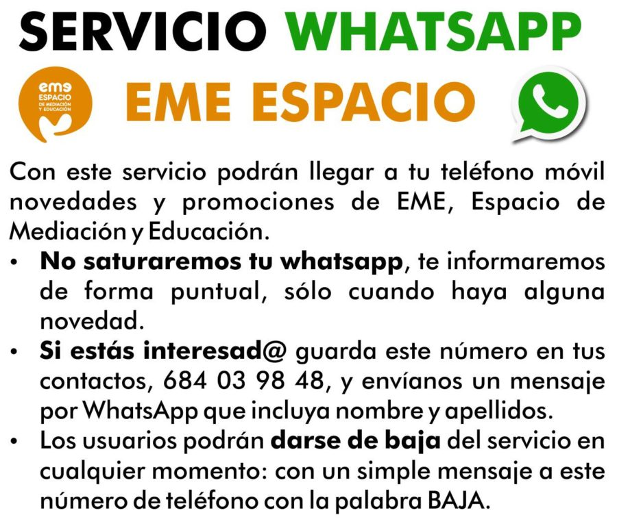 servicio whatsapp